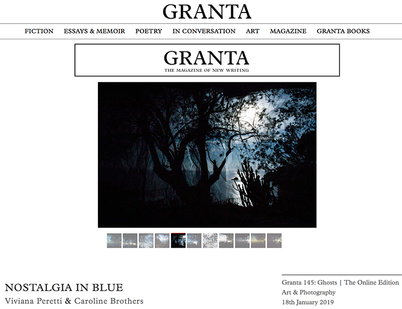 My series Nostalgia in blue published by GRANTA in the UK. Don't miss Caroline Brothers' touching essay. https://granta.com/nostalgia-in-blue/