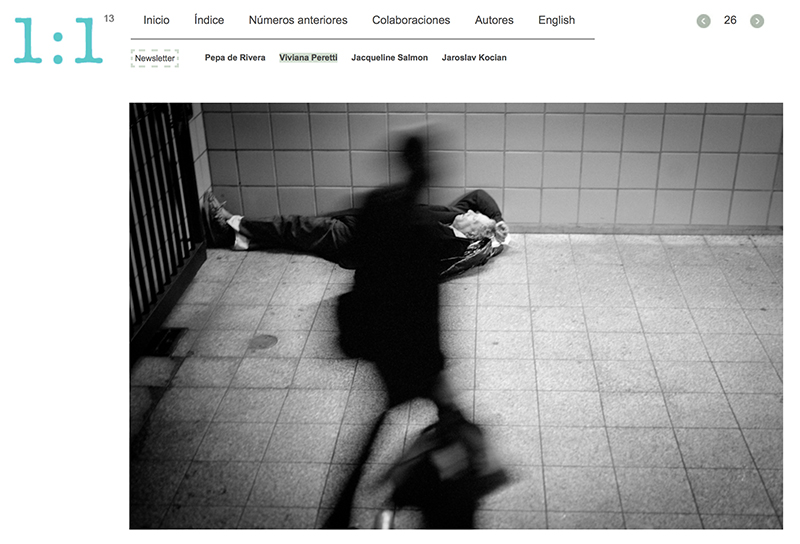 My series Desperate Intentions published by Magazine 1:1, Spain.