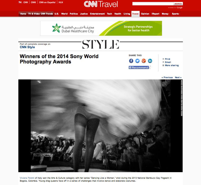 2014 SONY WORLD PHOTOGRAPHY AWARDS' Winners, CNN.