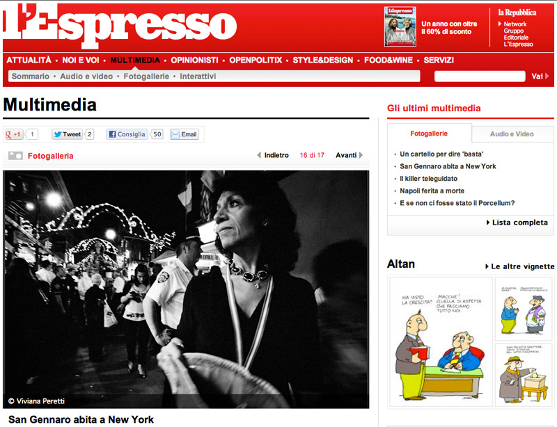 The Feast of San Gennaro in New York featured on L'ESPRESSO on March 2013. See more at: http://espresso.repubblica.it/multimedia/fotogalleria/32529810