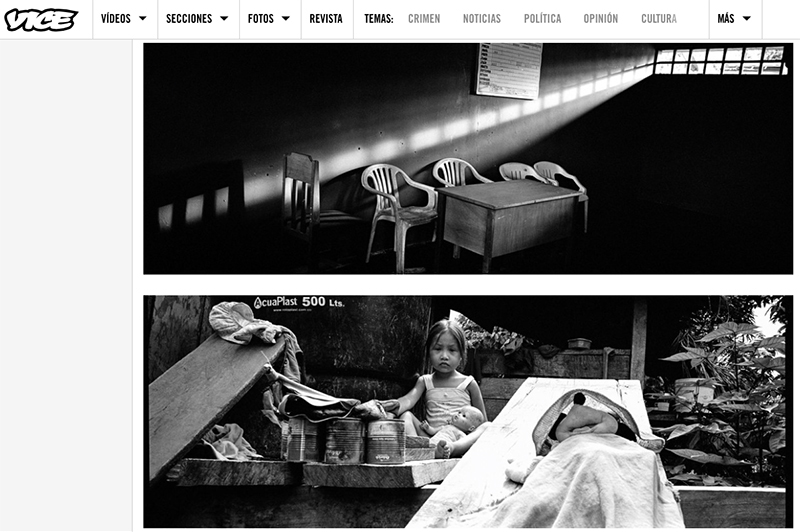 Pictures from my series Hybrid Amazon published by VICE Colombia.