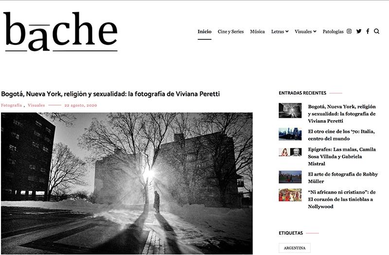 An interview with Revista Bache, Argentina.