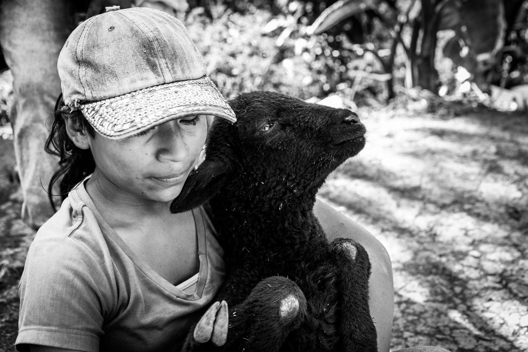 Karen Edith Baicue Pavi, La Betulia, Resguardo de San Francisco, Cauca, Colombia, Agosto 16, 2018.