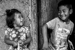 Marlon Santiago Pavi Ul (7 años), La Mina, Toribío, Cauca, Colombia, Agosto 18, 2018. Hijos de Eulalia Ul Cometa, La Mina, Toribío, Cauca, Colombia, Agosto 18, 2018.
