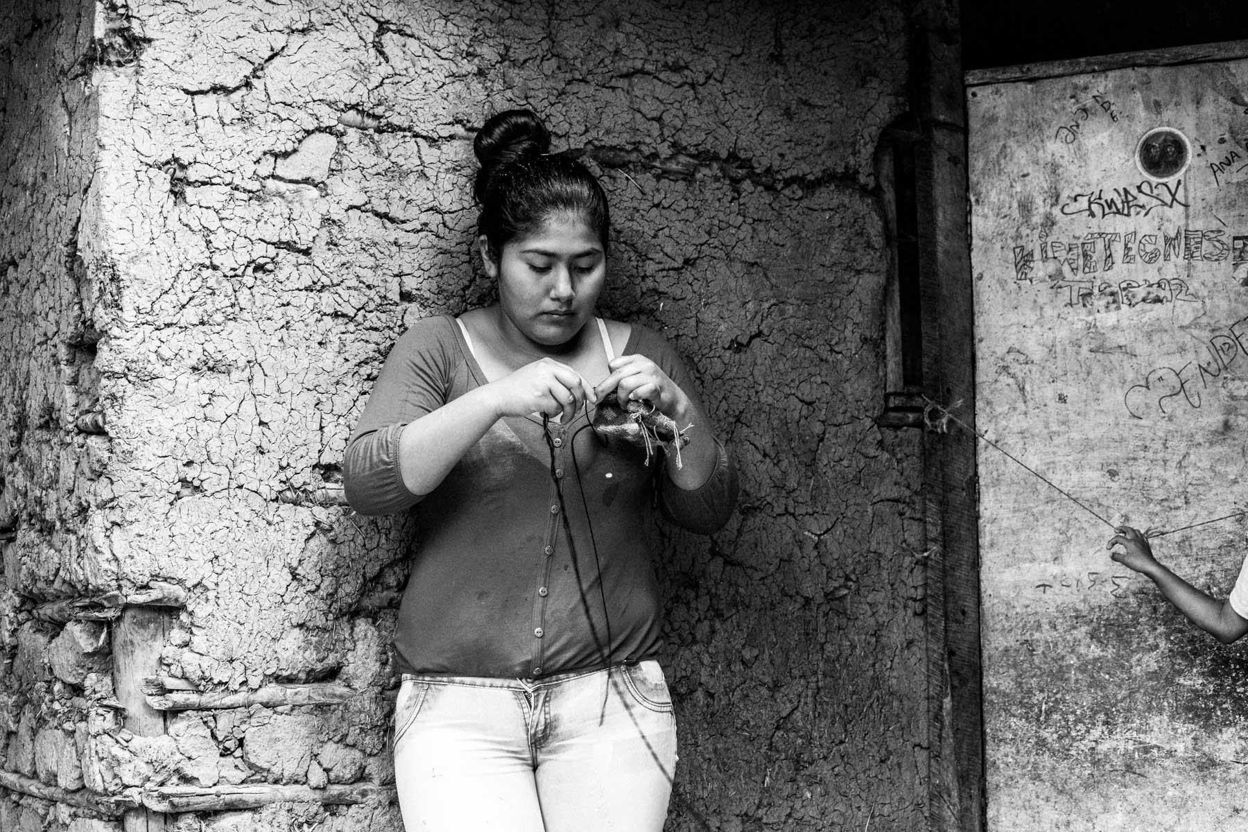 Francy Liliana Pequi Ascue (21 años), El Tablazo, Toribío, Cauca, Colombia. Septiembre 6, 2018.