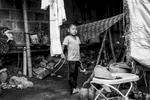 Yarold Daniel (9 años), hijo de Ismaelina Pazu Ul (33 años), Santa Rita, Toribío, Cauca, Colombia. Septiembre 7, 2018.