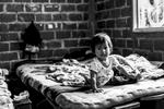 Angely (1 año), hijo de Ismaelina Pazu Ul (33 años), Santa Rita, Toribío, Cauca, Colombia. Septiembre 7, 2018.