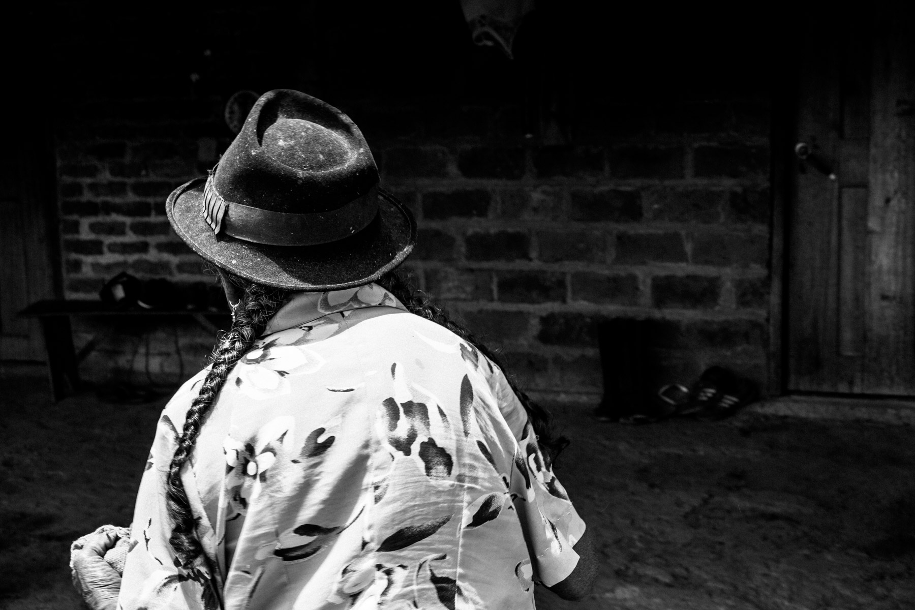 Rosalia Ul Musicue (78 años), La Primicia, Resguardo San Francisco. Cauca, Colombia, Agosto 19, 2018.